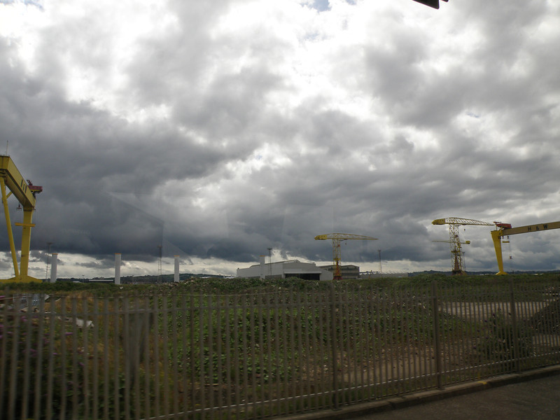 World's longest drydock (barely fits in frame), Belfast