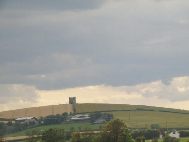 Ruined tower, Ireland.