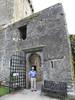 Dad at Blarney Castle