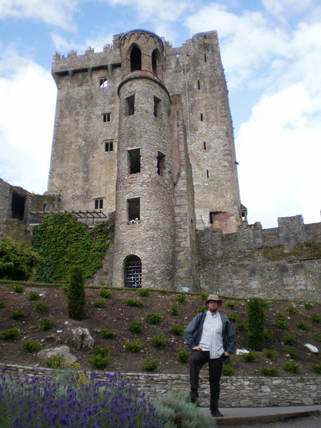Pat at Blarney Castle.