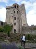 Pat at Blarney Castle.
