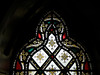 Stained glass, Turlough Park House.