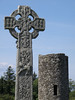 Celtic high cross and stone tower, Drumcliff