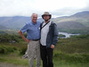 Dad and Pat on the Dingle peninsula, Ireland.