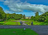 Kilkenny Castle's  formal garden is laid out in the form of a Celtic cross.