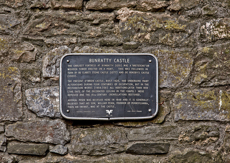 Day four of our tour begins with a visit to Bunratty Castle in County Clare.