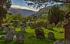 Glendalough cemetery.