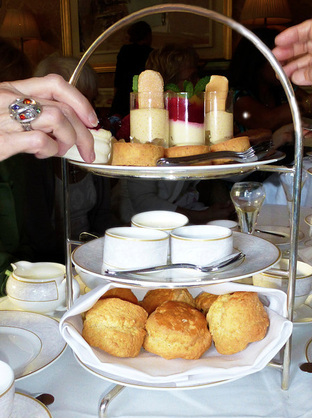 Hmmm, which one will it be? High Tea at the famous Shelbourne Hotel.