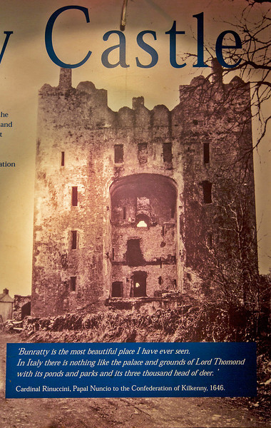 This cover of an old magazine shows the castle in much deteriorated  state.