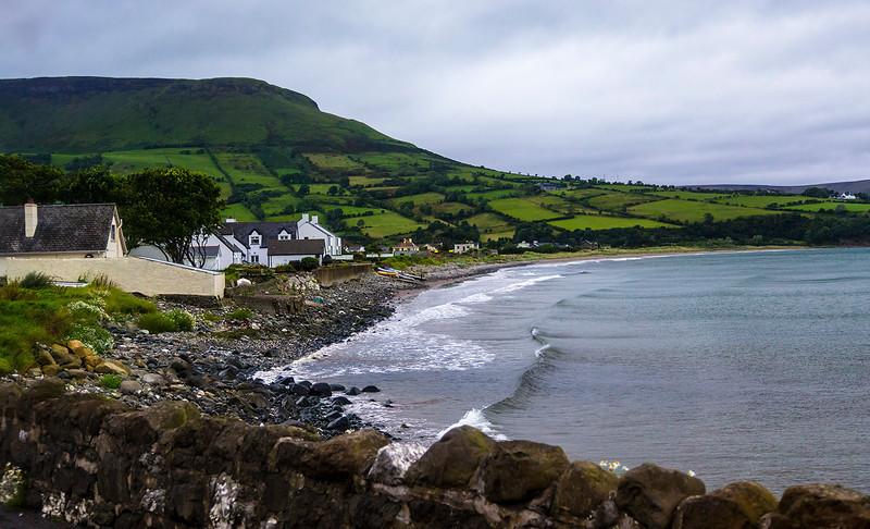 Seaside village on the NE coast of Northern Ireland.