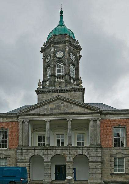 Tower at Dublin Castle complex.