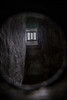 Jailer's view of a cell, which dates back to the 1700s. Grim, grim, grim!