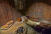 A monk's meager dwelling---Glendalough