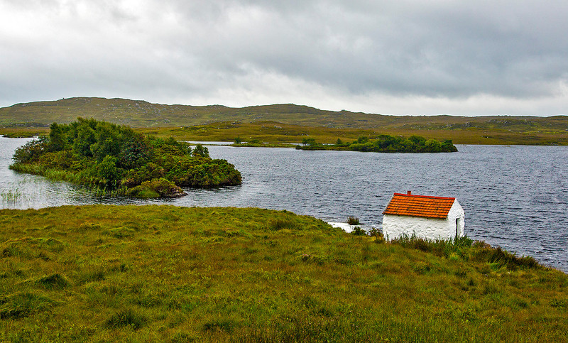 """Alleged to be """"the smallest house in Ireland."""""""