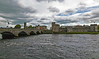 Driving through Limerick we see Limerick Castle on the River Shannon.