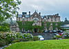 Front view of the Ballynahinch Castle/Hotel.