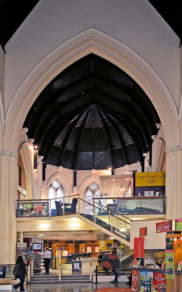 Visitors' information center, located in a former church.