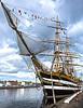 """Italian Tall Ship, """"Americo Vespucci."""""""