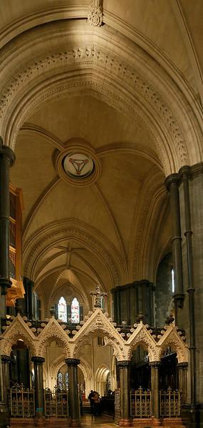 Christ Church interior, looking toward the altar.