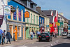 Time for lunch---of very good fish and chips, and a Guinness---in colorful Dingle Town.