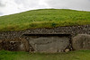 More petroglyphs on the backside of the Newgrange structure.