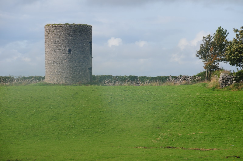 Old tower in Kinvarra West - Needs ID !