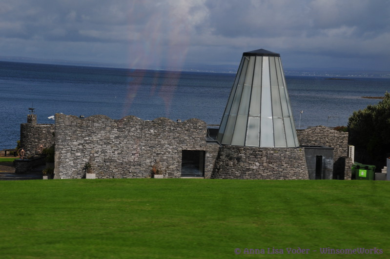 Visitor Center (needs ID) along Galway Bay