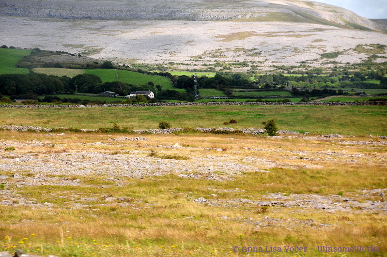 Scene near Muckinish East, in The Burren (mountain needs ID)
