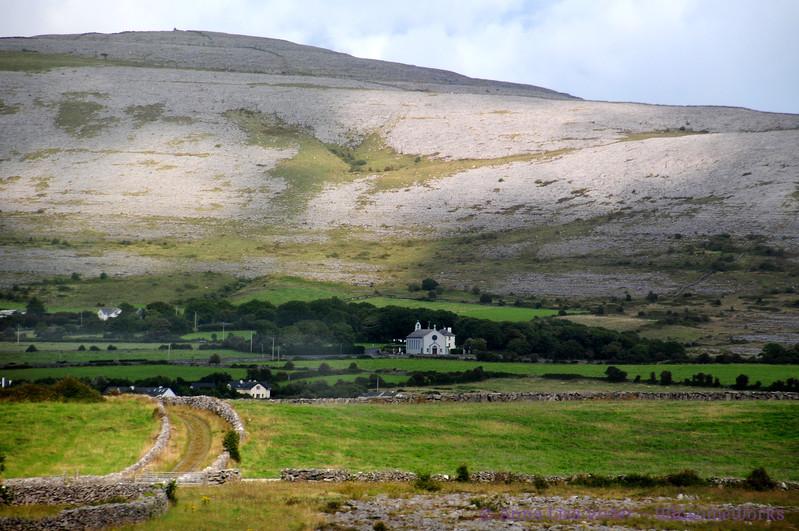 Scene near Muckinish West, in The Burren (mountain needs ID)