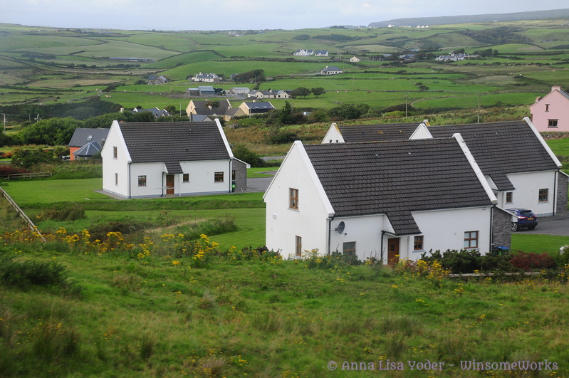 Newer homes outside of Galway