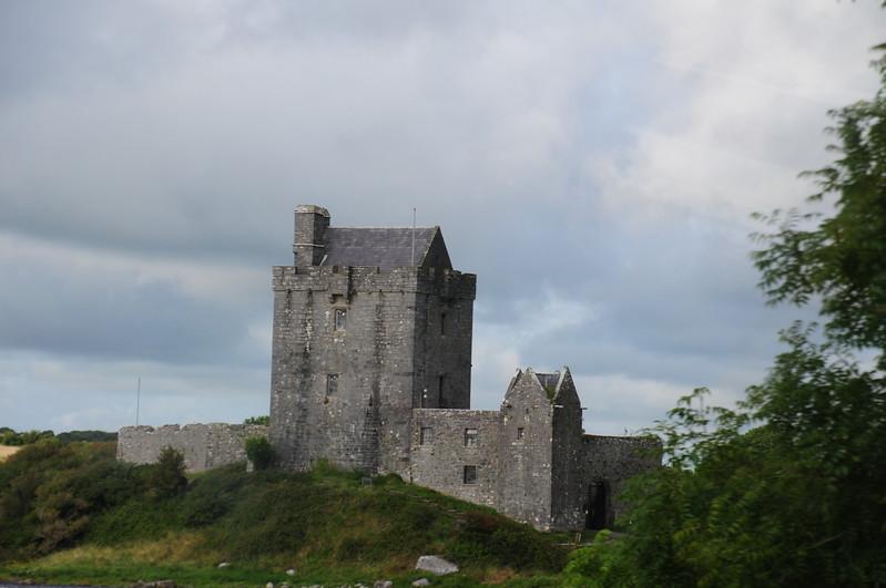 Dunguaire Castle ruins near Kinvarra