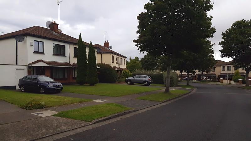 Neighborhood of our Air BnB, just outside Dublin