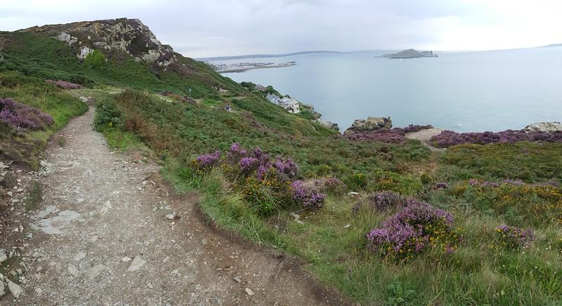 Kilrock, on Howth Cliff Path (overlooking Irish Sea, Ireland's Eye, & Howth Marina)