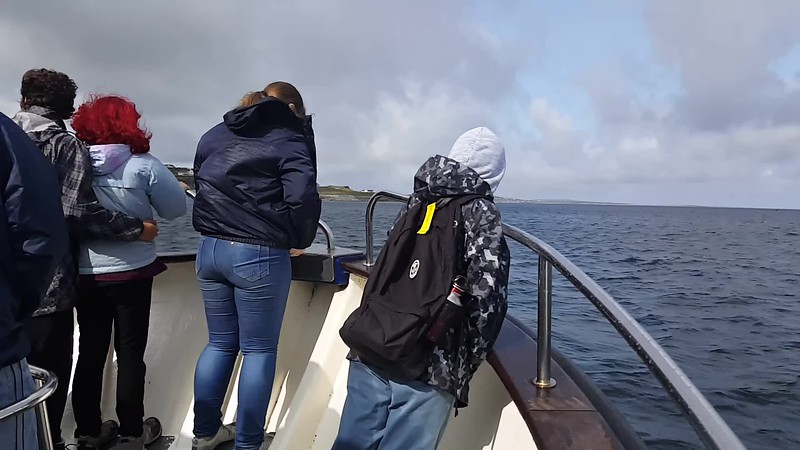VIDEO - Riding the Ferry to Inis Oirr (Inisheer)