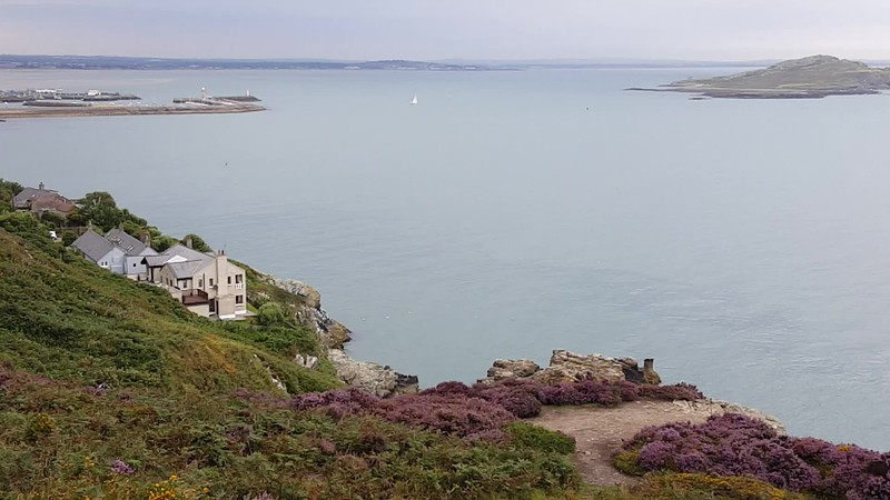 View of Ireland's Eye from Howth Cliff Path