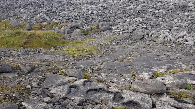 VIDEO - The Burren on Inis Oirr (Inisheer)