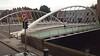 A Calatrava bridge, in Dublin Ireland