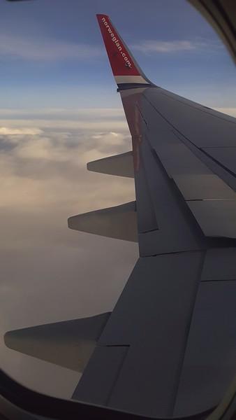 Flying to Dublin Ireland on Norwegian