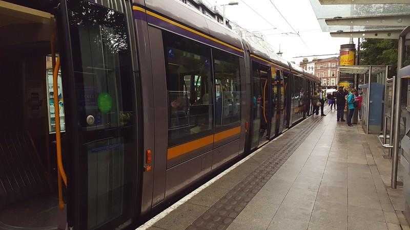 Train in Dublin