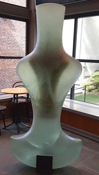 Sculpture in RISD cafe
