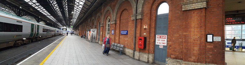 Irish Rail station, Dublin (where we left for Galway)