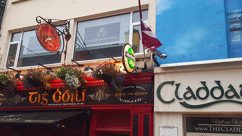 Tig Coili, a music club in The Latin Quarter, in Galway City