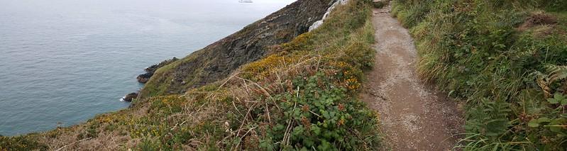 Panorama of Howth & the Irish Sea