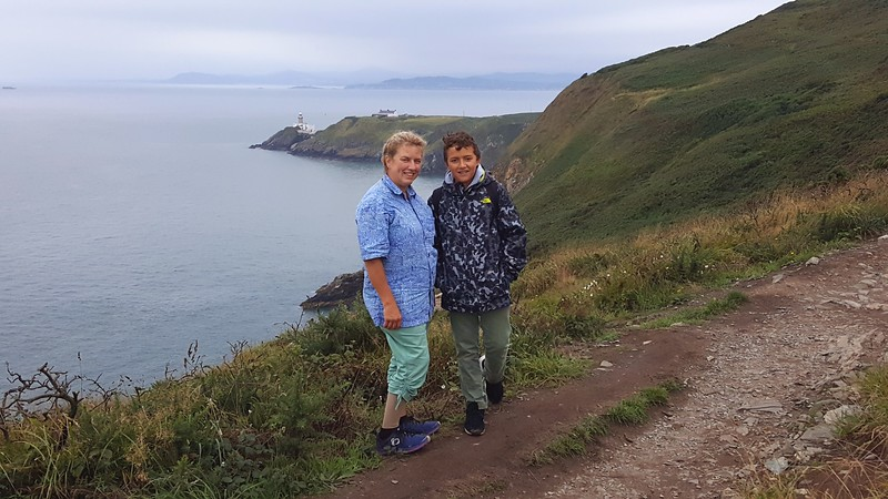 On Howth Cliff Path
