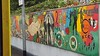 Mural outside Dublin