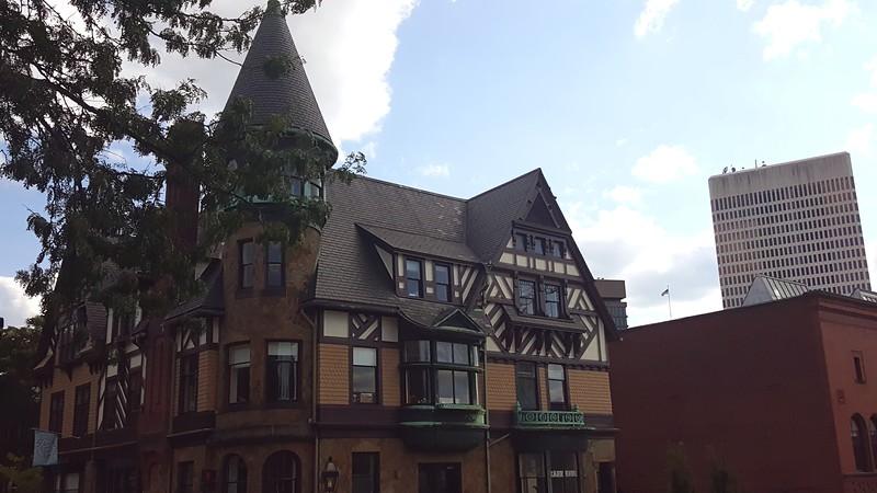 Tudor style building at At RISD