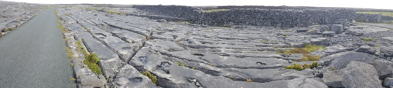 Pano of The Burren, on Inis Oirr (Inisheer)