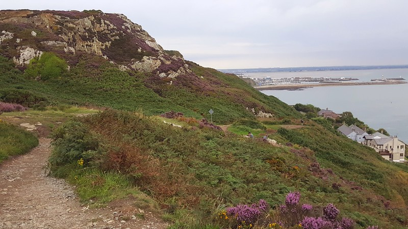 Kilrock, on Howth Cliff Path (overlooking Irish Sea & Howth Marina)