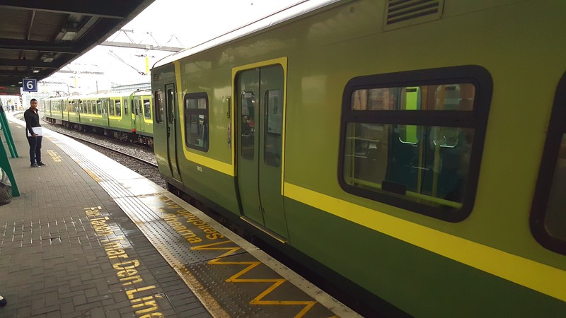 DART - We rode this kind of train to Howth Peninsula