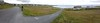 Pano - road leading to the quay on Inis Oirr (Inisheer)